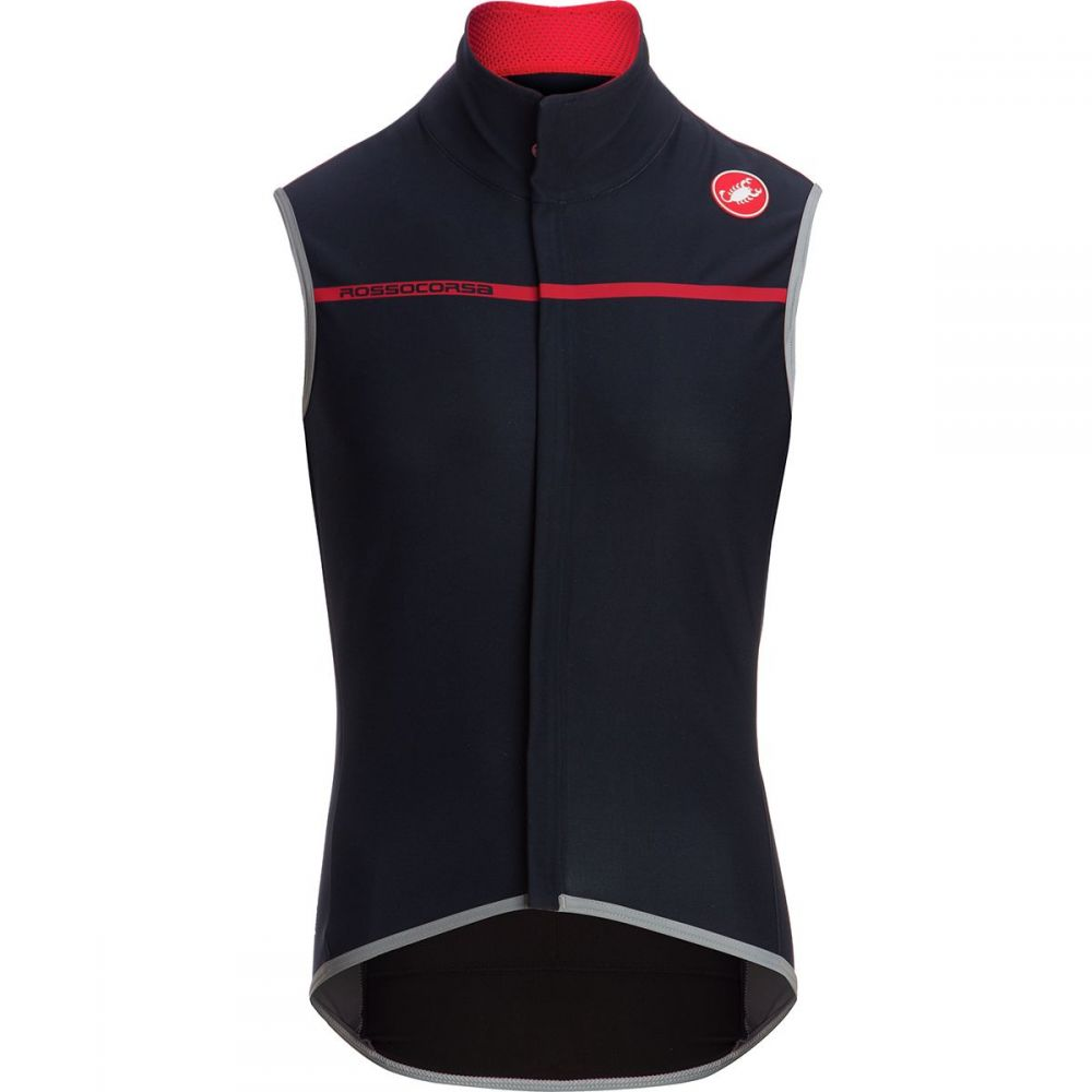 カステリ Castelli メンズ 自転車 トップス【Perfetto Vests】Dark Infinity Blue