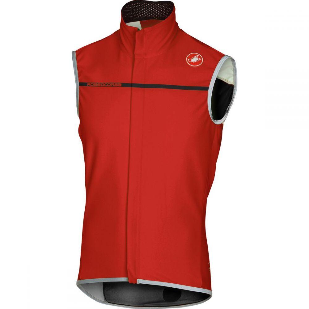 カステリ Castelli メンズ 自転車 トップス【Perfetto Vests】Red