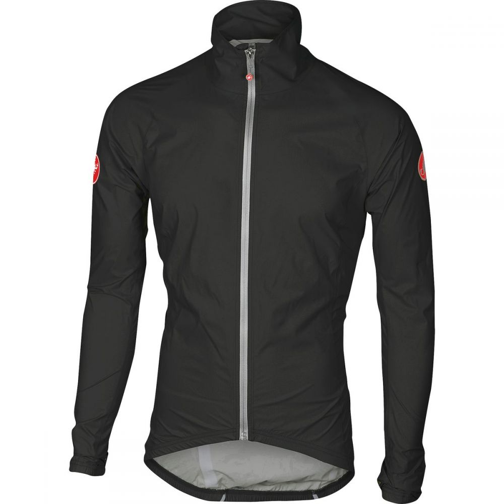 カステリ Castelli メンズ 自転車 アウター【Emergency Rain Jackets】Black