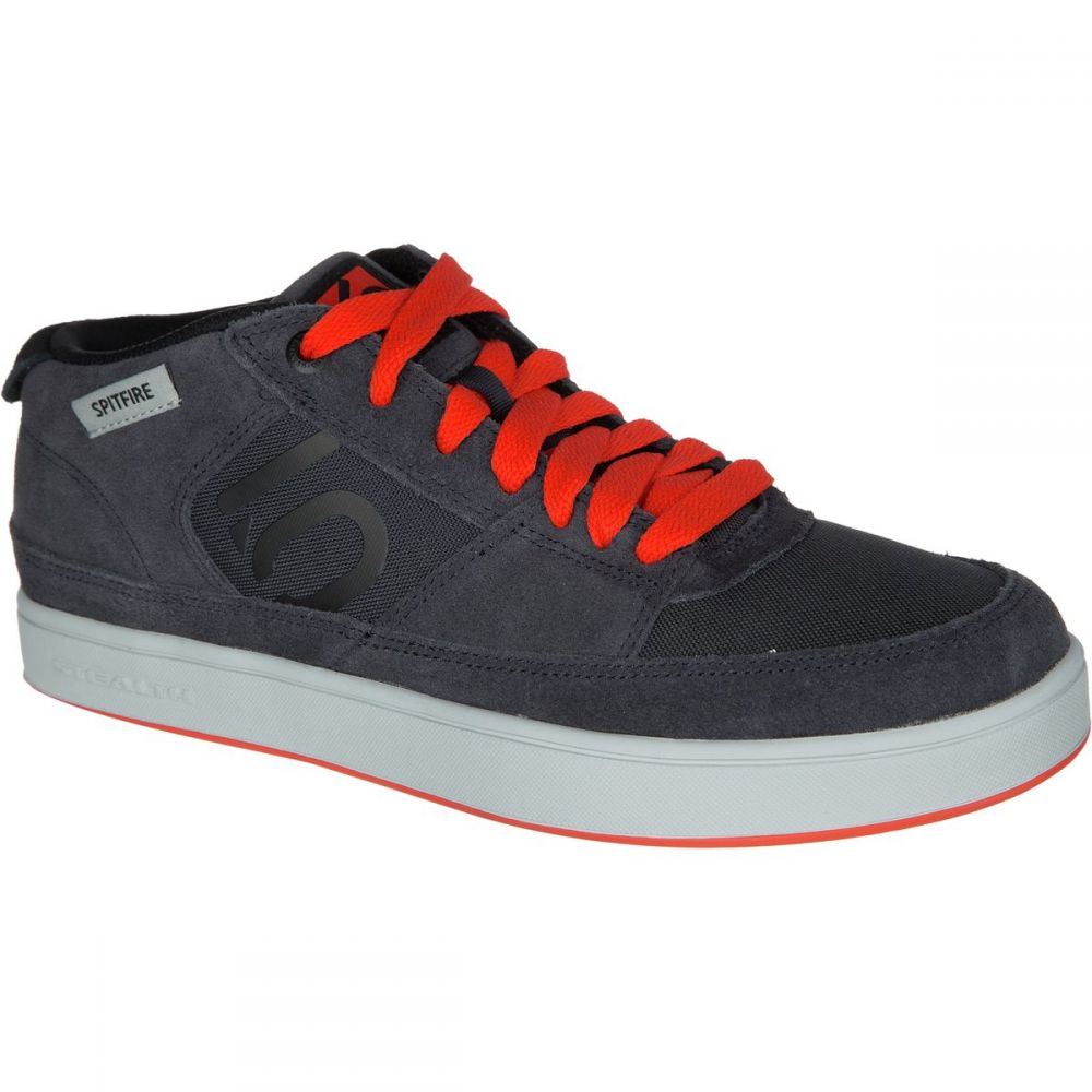 ファイブテン Five Ten メンズ 自転車 シューズ・靴【Spitfire Shoes】Dark Grey/Black/Bold Orange