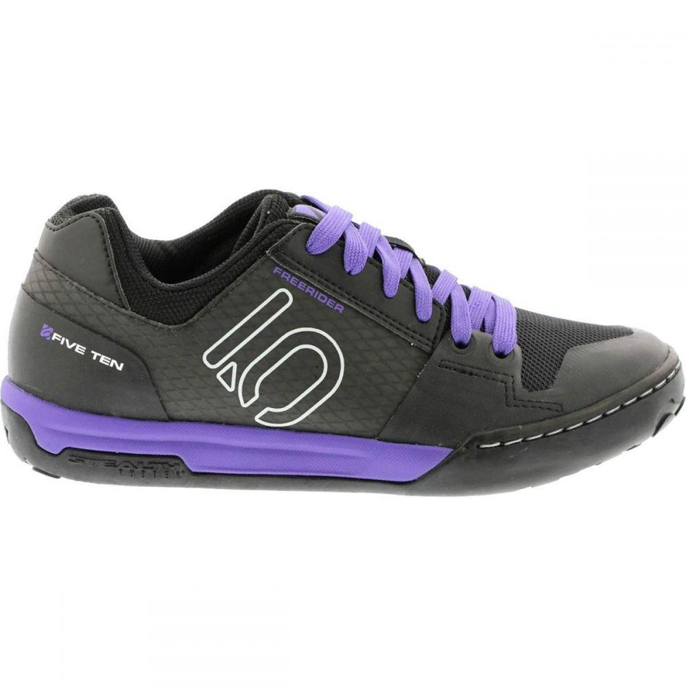 ファイブテン Five Ten レディース 自転車 シューズ・靴【Freerider Contact Shoe】Black/Carbon/Purple