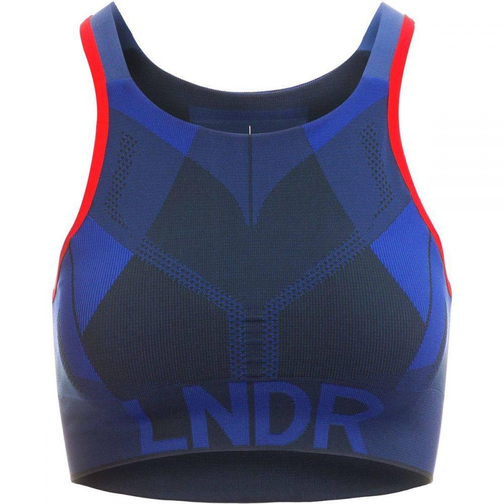 LNDR レディース インナー・下着 スポーツブラ【All Seasons Sports Bra】Blue/Petrol