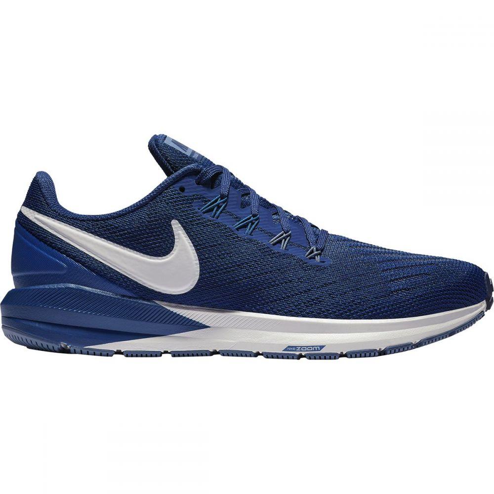 ナイキ Nike メンズ ランニング・ウォーキング シューズ・靴【Air Zoom Structure 22 Running Shoes】Blue Void/Vast Grey-gym Blue
