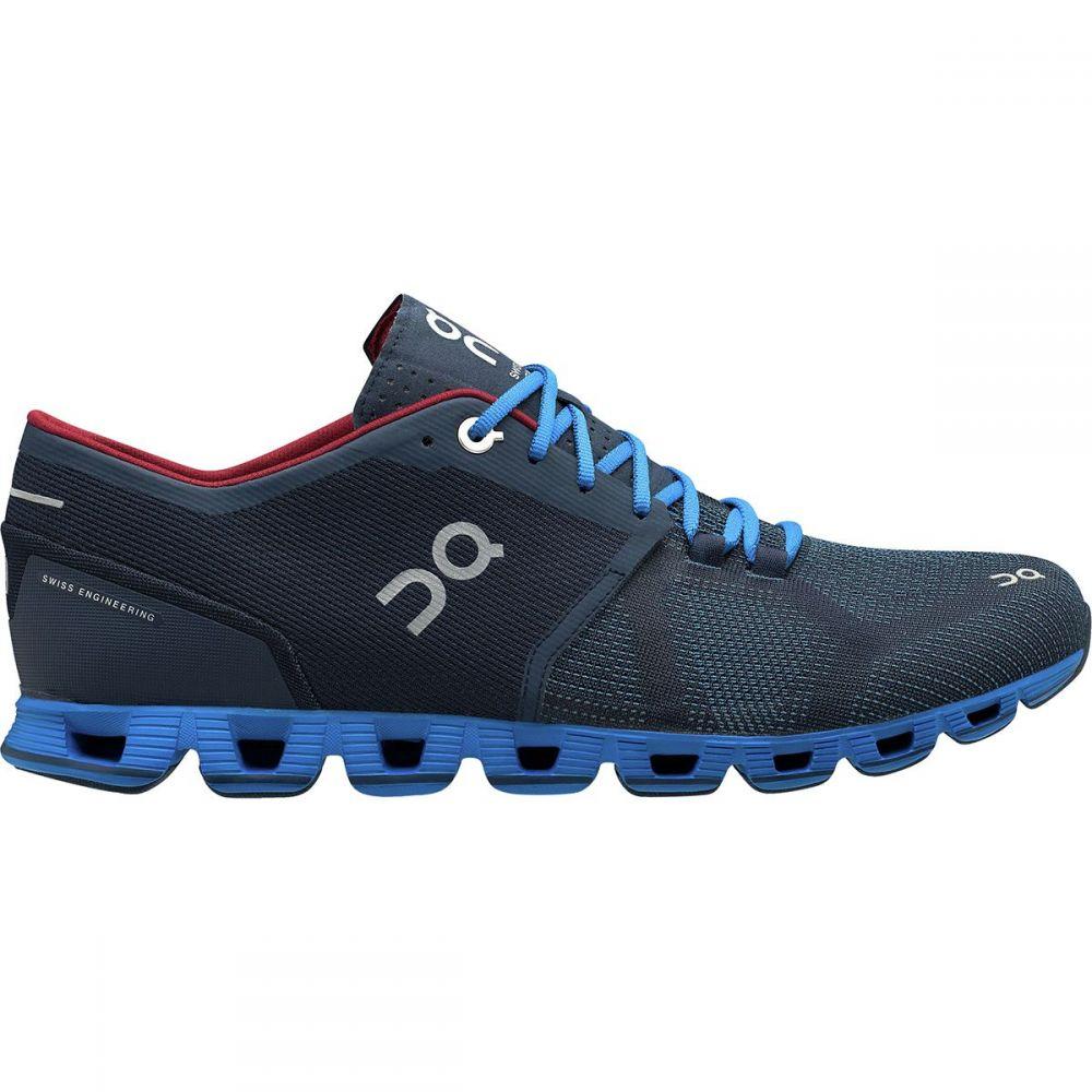 オン On Footwear メンズ ランニング・ウォーキング シューズ・靴【Cloud X Running Shoes】Midnight/Cobalt