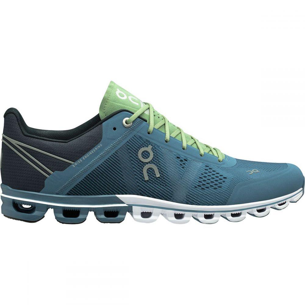 オン On Footwear メンズ ランニング・ウォーキング シューズ・靴【Cloudflow Running Shoes】Lake/Fern