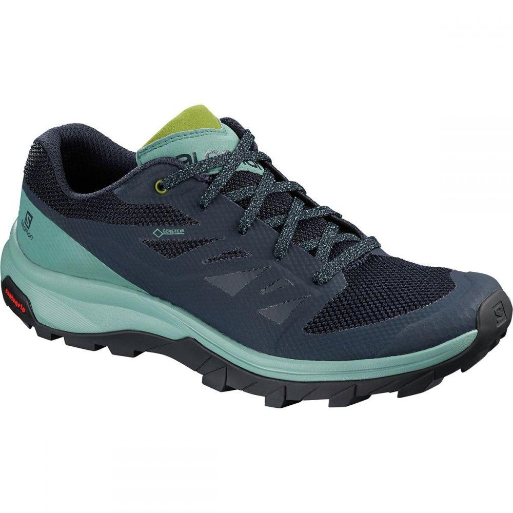 サロモン Salomon レディース ハイキング・登山 シューズ・靴【Outline GTX Hiking Shoe】Trellis/Navy Blazer/Guacamole