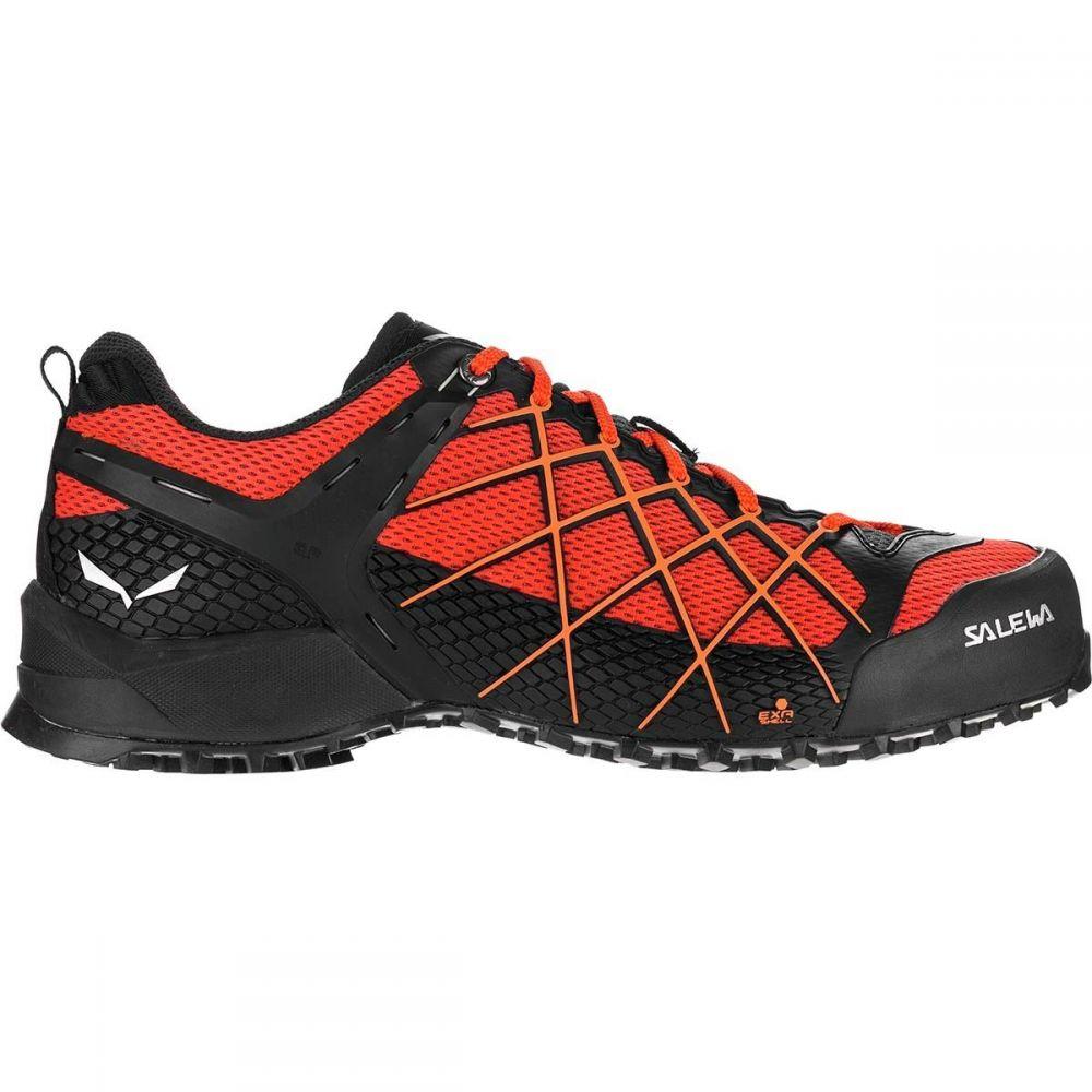サレワ Salewa メンズ ハイキング・登山 シューズ・靴【Wildfire Hiking Shoes】Black Out/Orange Popsicle