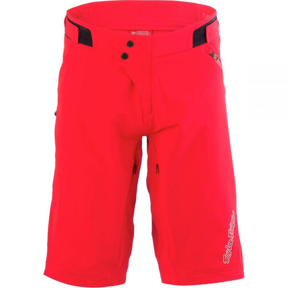 トロイリーデザイン Troy Lee Designs メンズ 自転車 ボトムス・パンツ【Ruckus Shorts】Solid Red