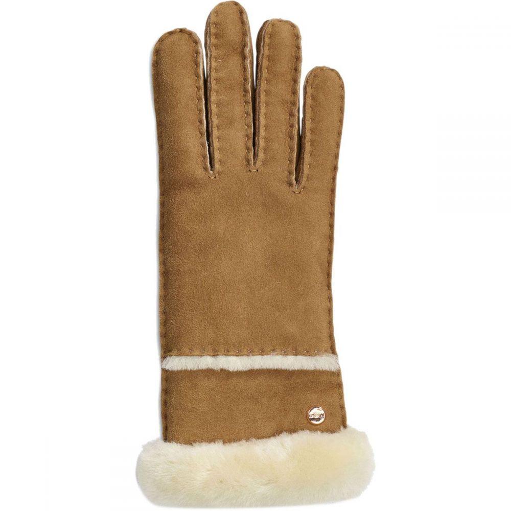 アグ UGG レディース 手袋・グローブ【Seamed Tech Glove】Chestnut