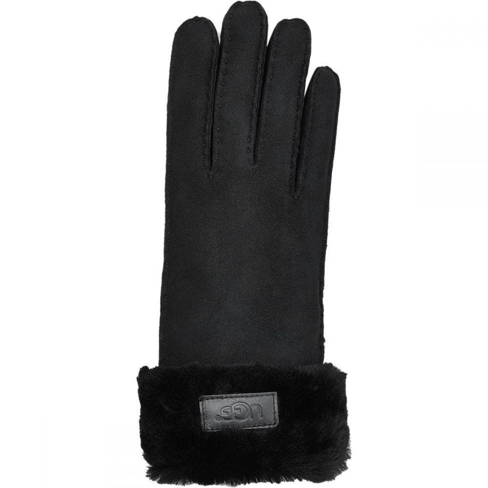 アグ UGG レディース 手袋・グローブ【Classic Turn Cuff Glove】Black
