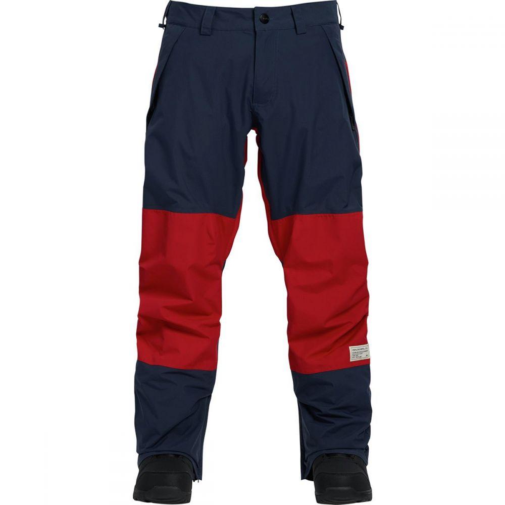 アナログ Analog メンズ スキー・スノーボード ボトムス・パンツ【AG Cinderblade Pants】Mood Indigo/Process Red