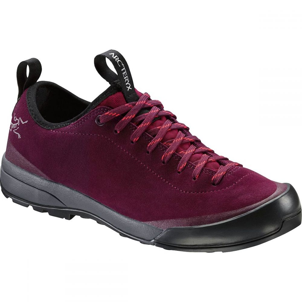 アークテリクス Arc'teryx レディース ハイキング・登山 シューズ・靴【Acrux SL Leather GTX Approach Shoe】Merbau/Aurora