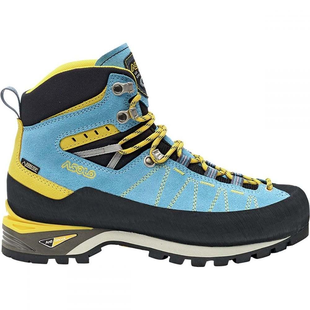 アゾロ Asolo レディース ハイキング・登山 シューズ・靴【Piz GV Mountaineering Boot】Azure/Mimosa