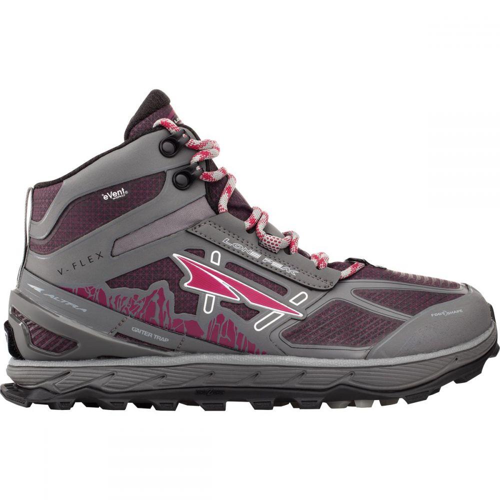アルトラ Altra メンズ ランニング・ウォーキング シューズ・靴【Lone Peak 4.0 Mid RSM Trail Running Shoes】Gray