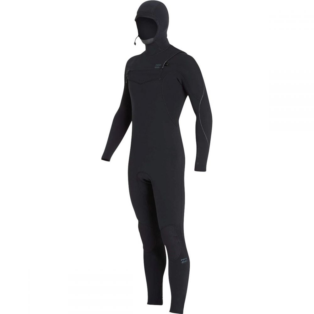 ビラボン Billabong メンズ 水着・ビーチウェア ウェットスーツ【4/3mm Furnace Carbon Chest Zip Hooded Full Wetsuits】Black