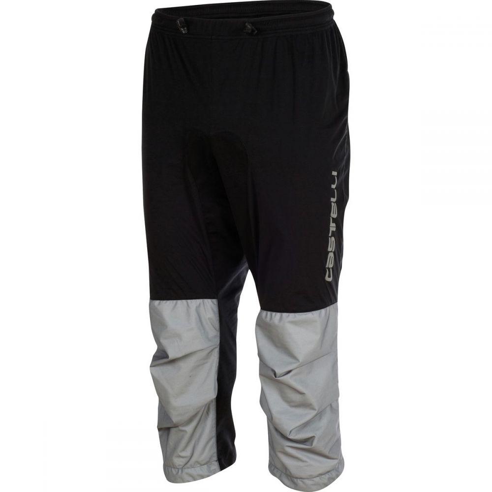 カステリ Castelli メンズ 自転車 ボトムス・パンツ【Tempesta 3/4 Pants】Black/Gray