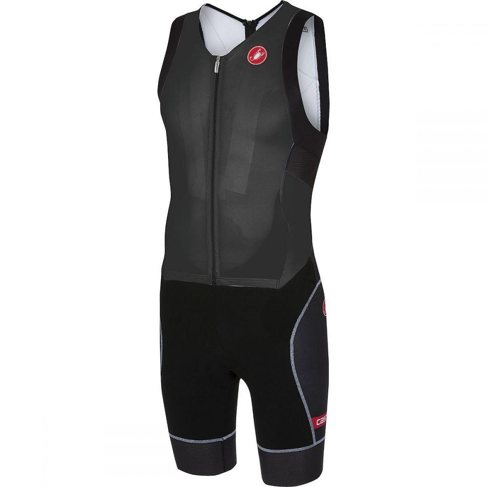 カステリ Castelli メンズ トライアスロン トップス【Free Sanremo Sleeveless Suits】Black