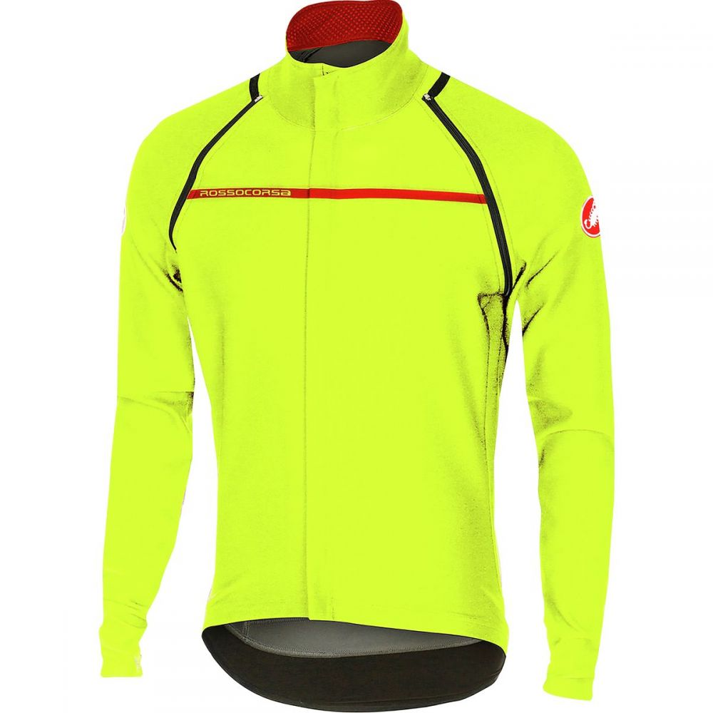 カステリ Castelli メンズ 自転車 アウター【Perfetto Convertible Jackets】Yellow Fluo
