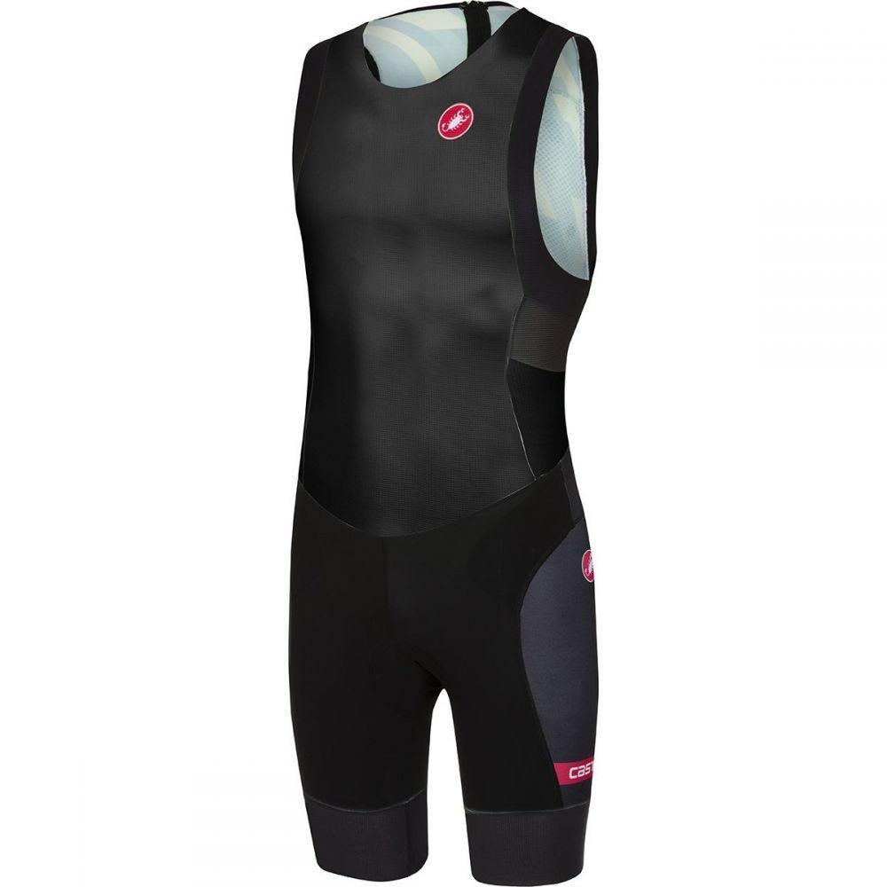 カステリ Castelli メンズ トライアスロン トップス【Short Distance Race Suits】Black