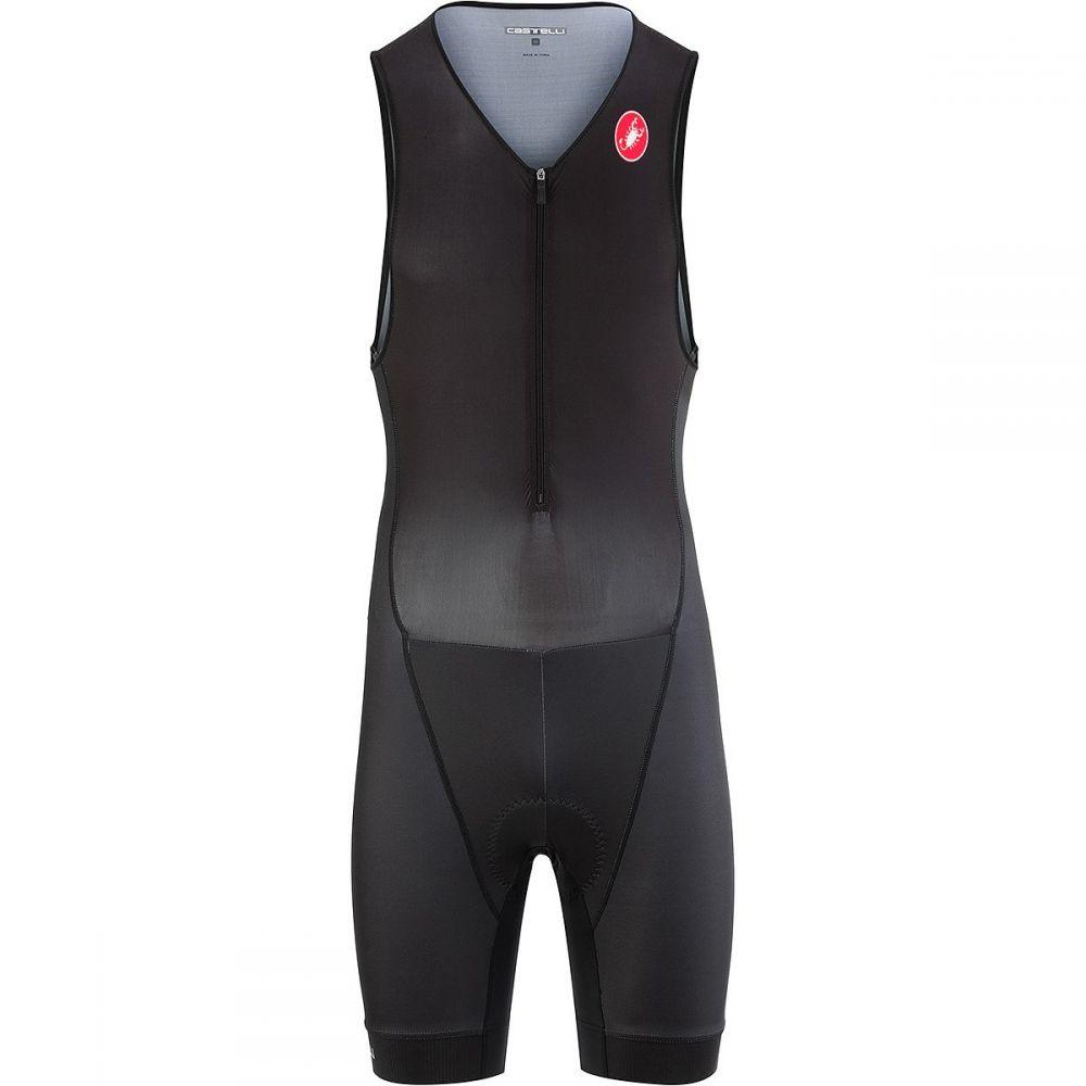 カステリ Castelli メンズ トライアスロン トップス【Core Tri Suits】Black