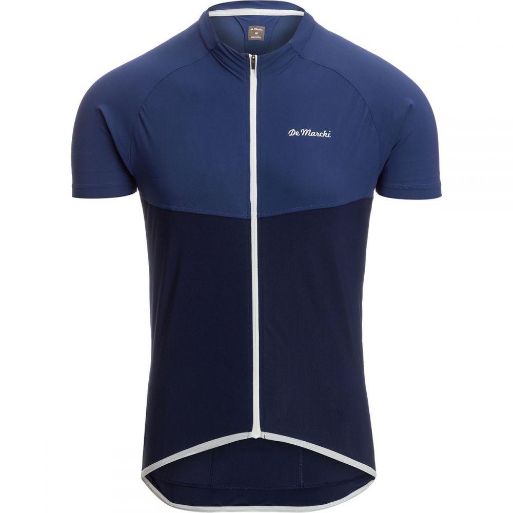 デマルキ De Marchi メンズ 自転車 トップス【Leggera Jerseys】Blue