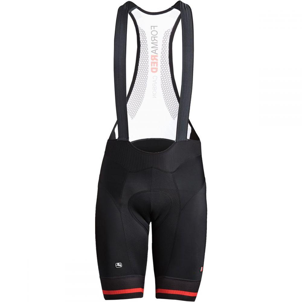 ジョルダーノ Giordana メンズ 自転車 ボトムス・パンツ【FR - C Pro Bib Shorts】Black/Red