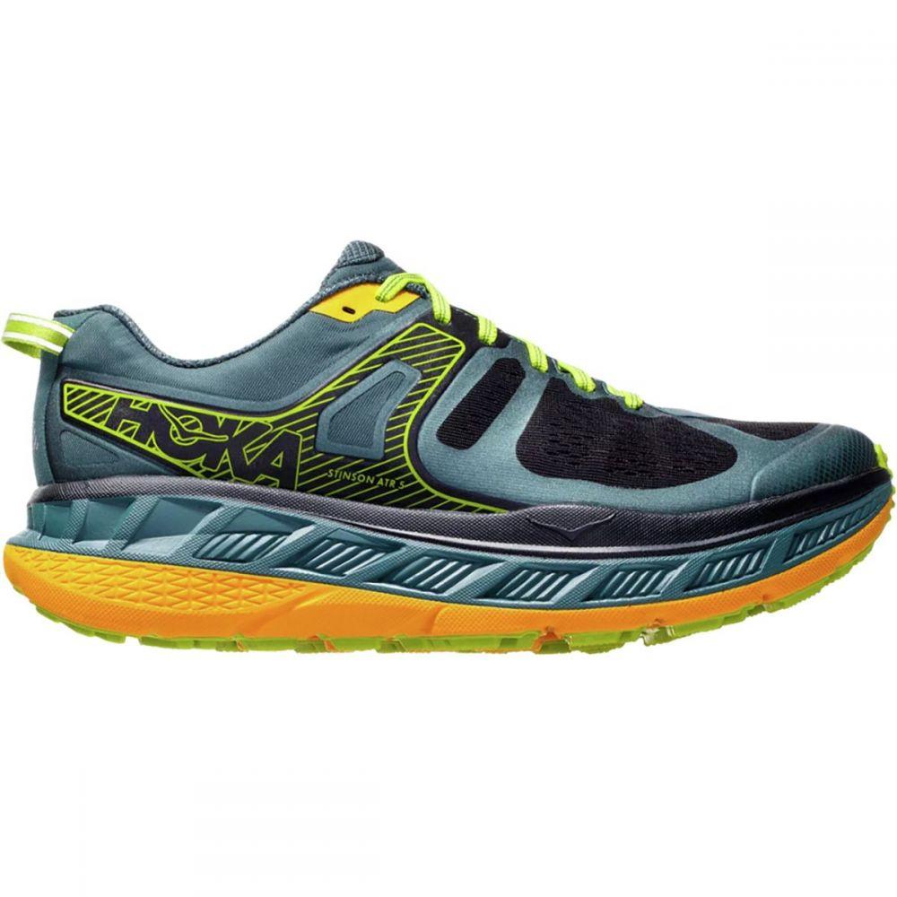 ホカ オネオネ HOKA ONE ONE メンズ ランニング・ウォーキング シューズ・靴【Stinson ATR 5 Running Shoes】Mallard Green/Gold Fusion
