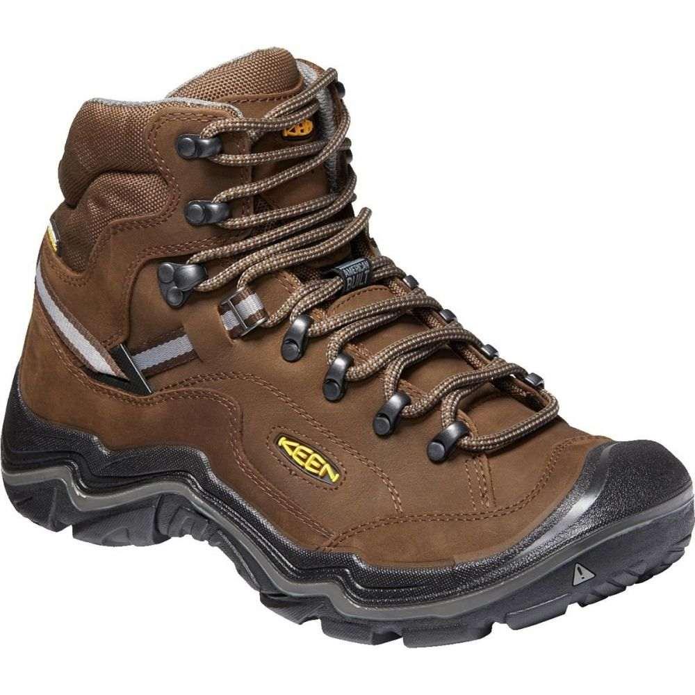 キーン KEEN メンズ ハイキング・登山 シューズ・靴【Durand II Mid Waterproof Hiking Boot - Wides】Cascade Brown/Gargoyle