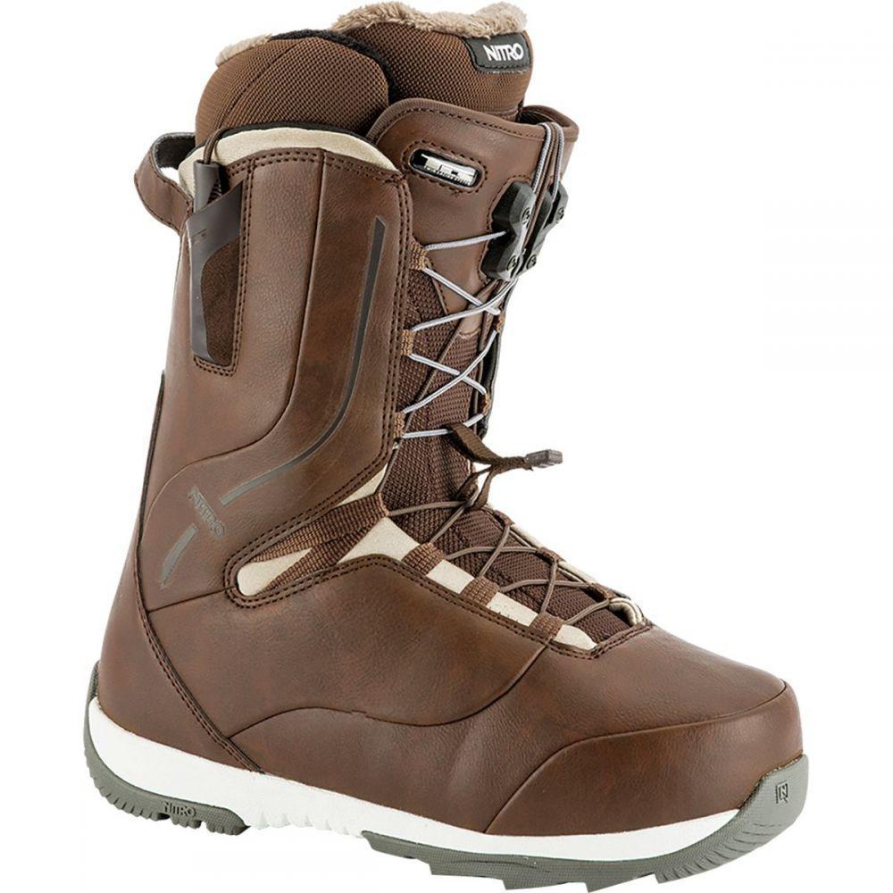 ニトロ Nitro レディース スキー・スノーボード シューズ・靴【Crown TLS Snowboard Boot】Brown