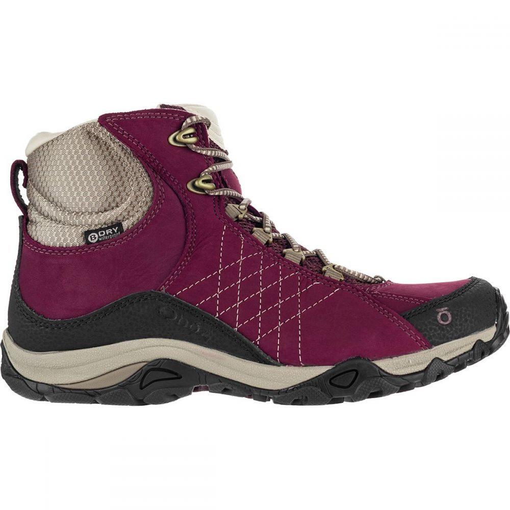 オボズ Oboz レディース ハイキング・登山 シューズ・靴【Sapphire Mid B - Dry Hiking Boot】Boysenberry