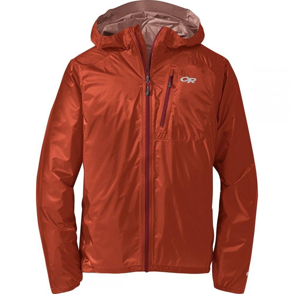 アウトドアリサーチ Outdoor Research メンズ アウター レインコート【Helium II Jackets】Burnt Orange/Firebrick