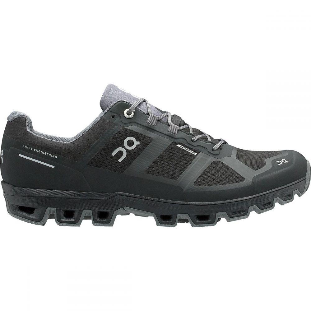 オン On Footwear メンズ ランニング・ウォーキング シューズ・靴【Cloudventure Waterproof Trail Run Shoes】Black/Graphit