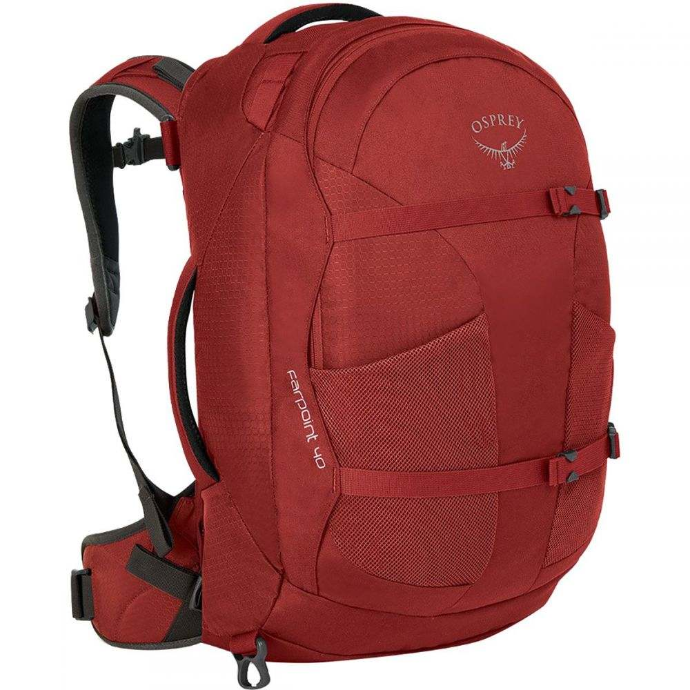 オスプレー Osprey Packs メンズ バッグ バックパック・リュック【Farpoint 40L Backpacks】Jasper Red