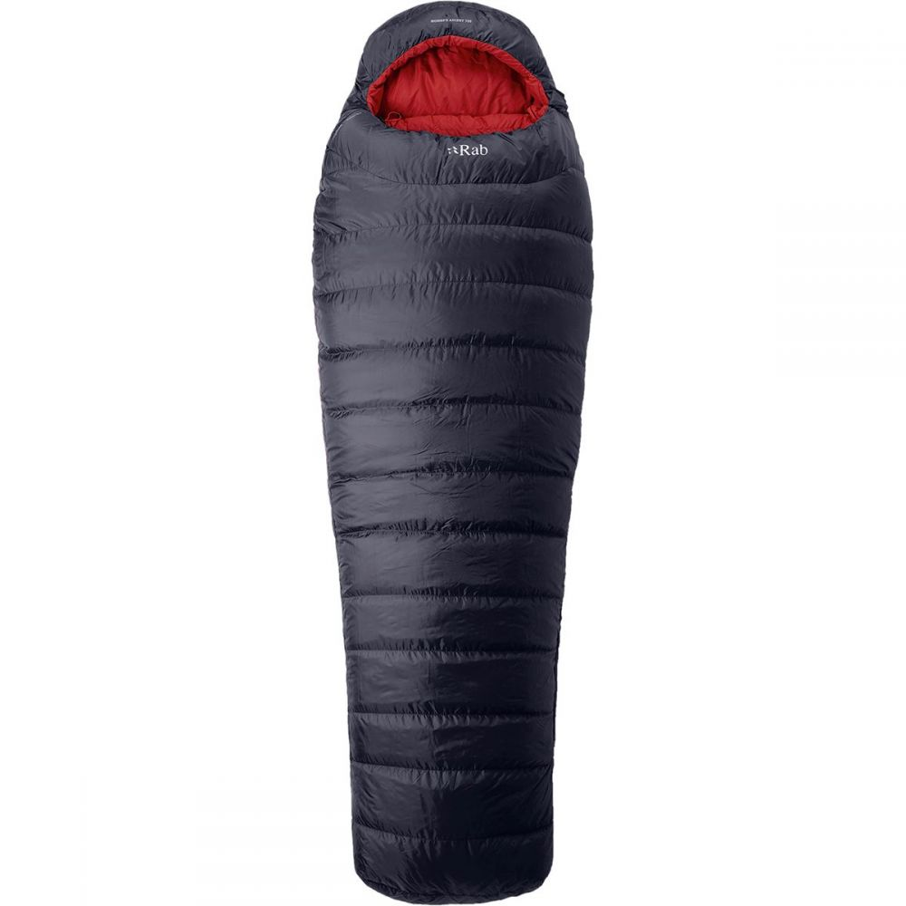 ラブ Rab レディース ハイキング・登山【Ascent 700 Sleeping Bag: 17 Degree Down】Ebony
