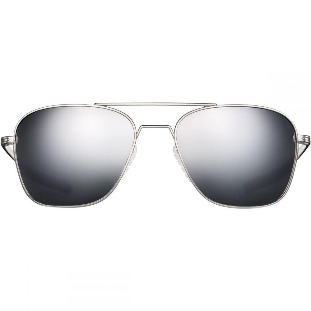 ロカ Roka レディース スポーツサングラス【Falcon Titanium Sunglasses】Silver/Arctic Mirror