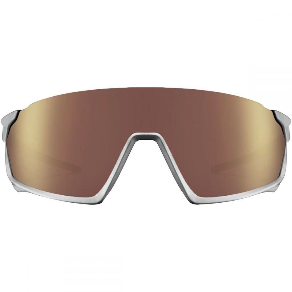 ロカ Roka レディース スポーツサングラス【GP - 1 Sunglasses】Matte Silver/HC Octane Mirror