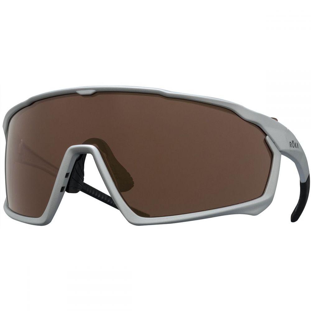 ロカ Roka レディース スポーツサングラス【GP - 1X Sunglasses】Matte Silver/HC Octane Mirror