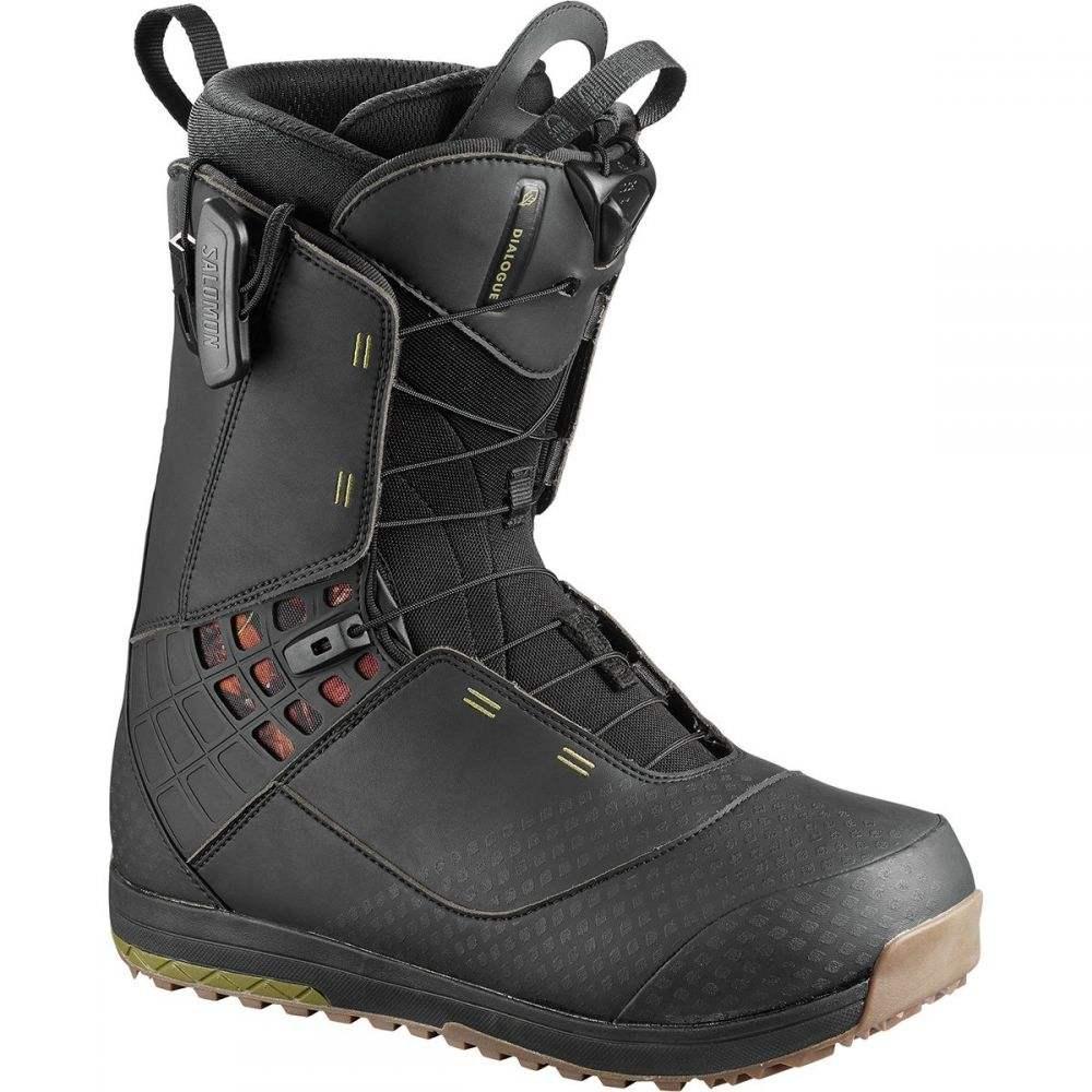 大特価!! サロモン Salomon Snowboards Salomon Boots】Black メンズ スキー・スノーボード シューズ Snowboard・靴【Dialogue Snowboard Boots】Black, キャンピングリサーチ:f9645ab7 --- canoncity.azurewebsites.net