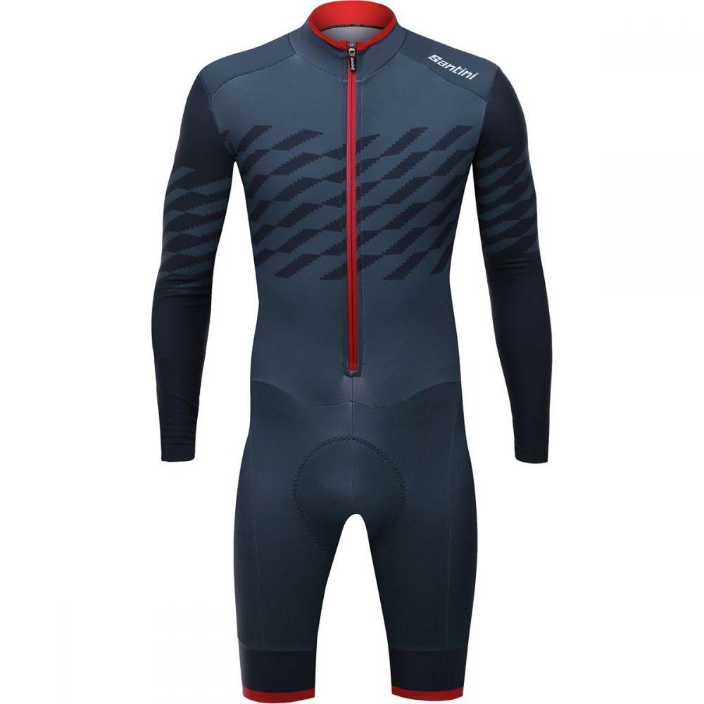 サンティーニ Santini メンズ トライアスロン トップス【Boss Cyclocross Suits】Print