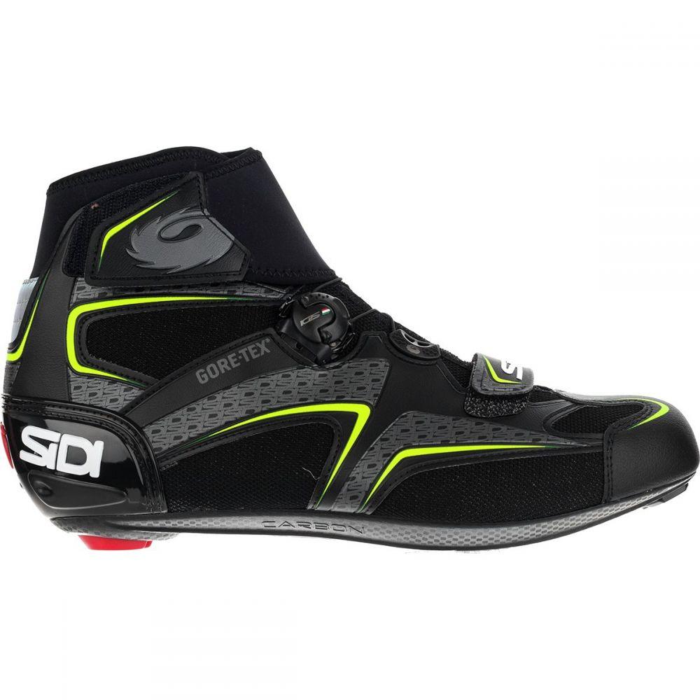 シディー Sidi メンズ 自転車 シューズ・靴【Zero Gore - Tex Cycling Shoes】Black/Yellow
