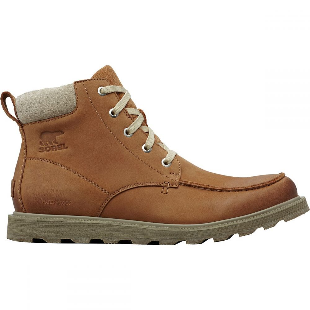 ソレル Sorel メンズ シューズ・靴 ブーツ【Madson Moc Toe Waterproof Boots】Camel Brown/Oatmeal