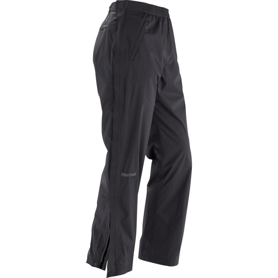 マーモット Marmot メンズ ボトムス レインパンツ【PreCip Full-Zip Pant】Black