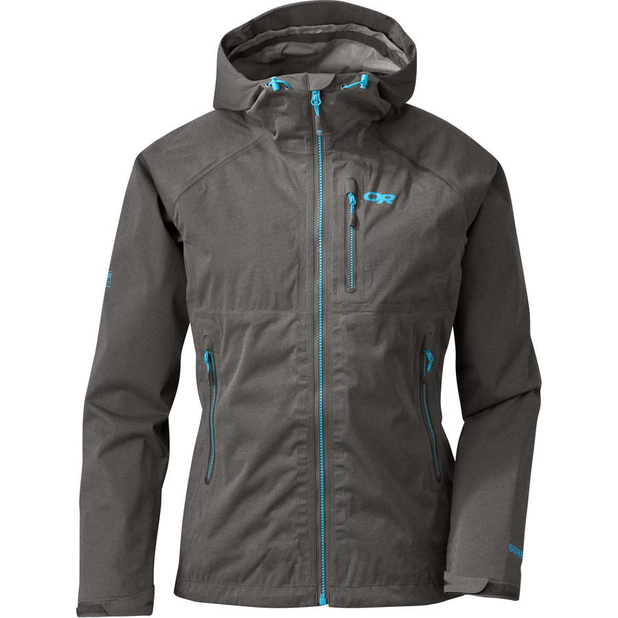 アウトドアリサーチ Outdoor Research レディース アウター ジャケット【Clairvoyant GTX Jacket】Charcoal