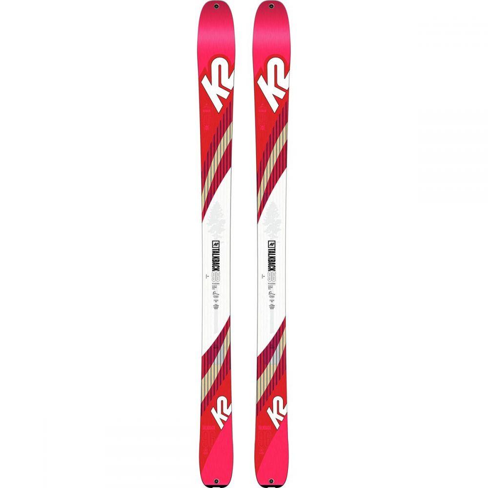 ケーツー K2 レディース スキー・スノーボード ボード・板【Talkback 96 Ski】One Color