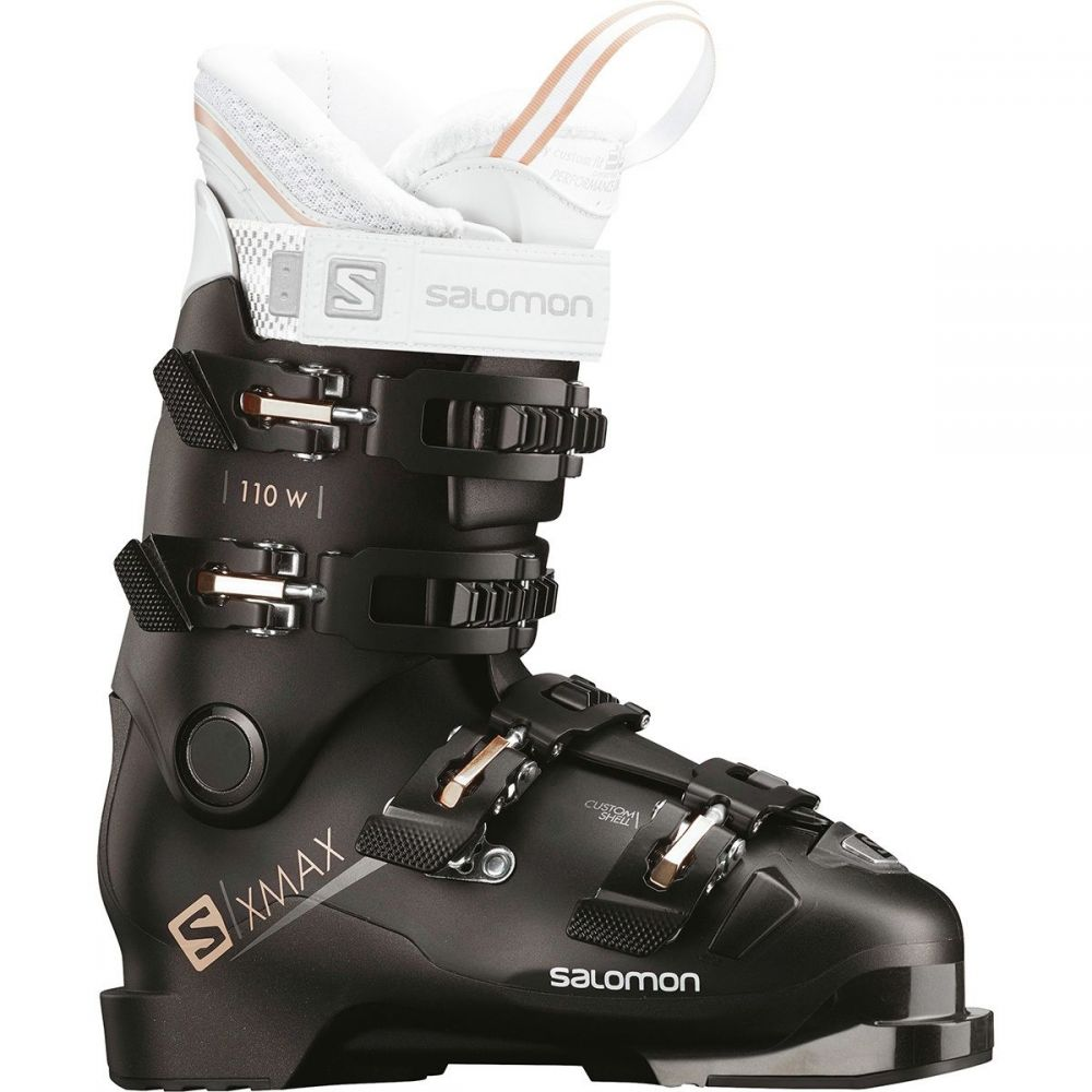 サロモン Salomon レディース スキー・スノーボード シューズ・靴【X Max 110 Ski Boot】Black/Metallic Black/Corail