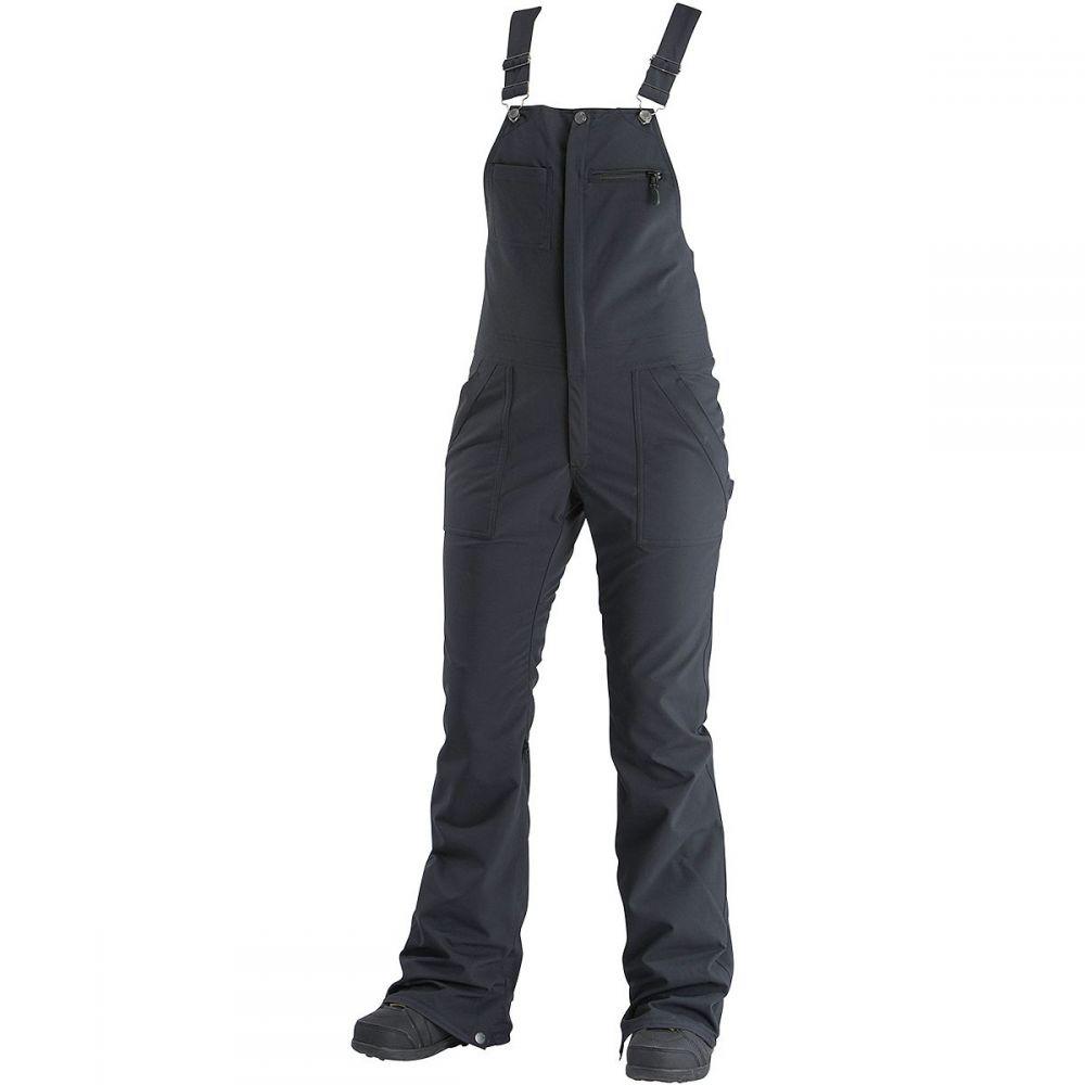 エアブラスター Airblaster レディース スキー・スノーボード ボトムス・パンツ【Sassy Hot Bib Pant】Black