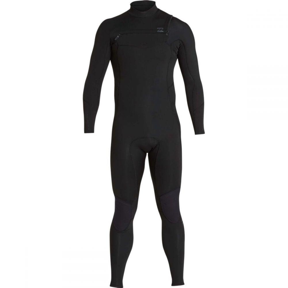 ビラボン Billabong メンズ 水着・ビーチウェア ウェットスーツ【4/3mm Furnace Absolute Chest Zip GBS Full Wetsuits】Black