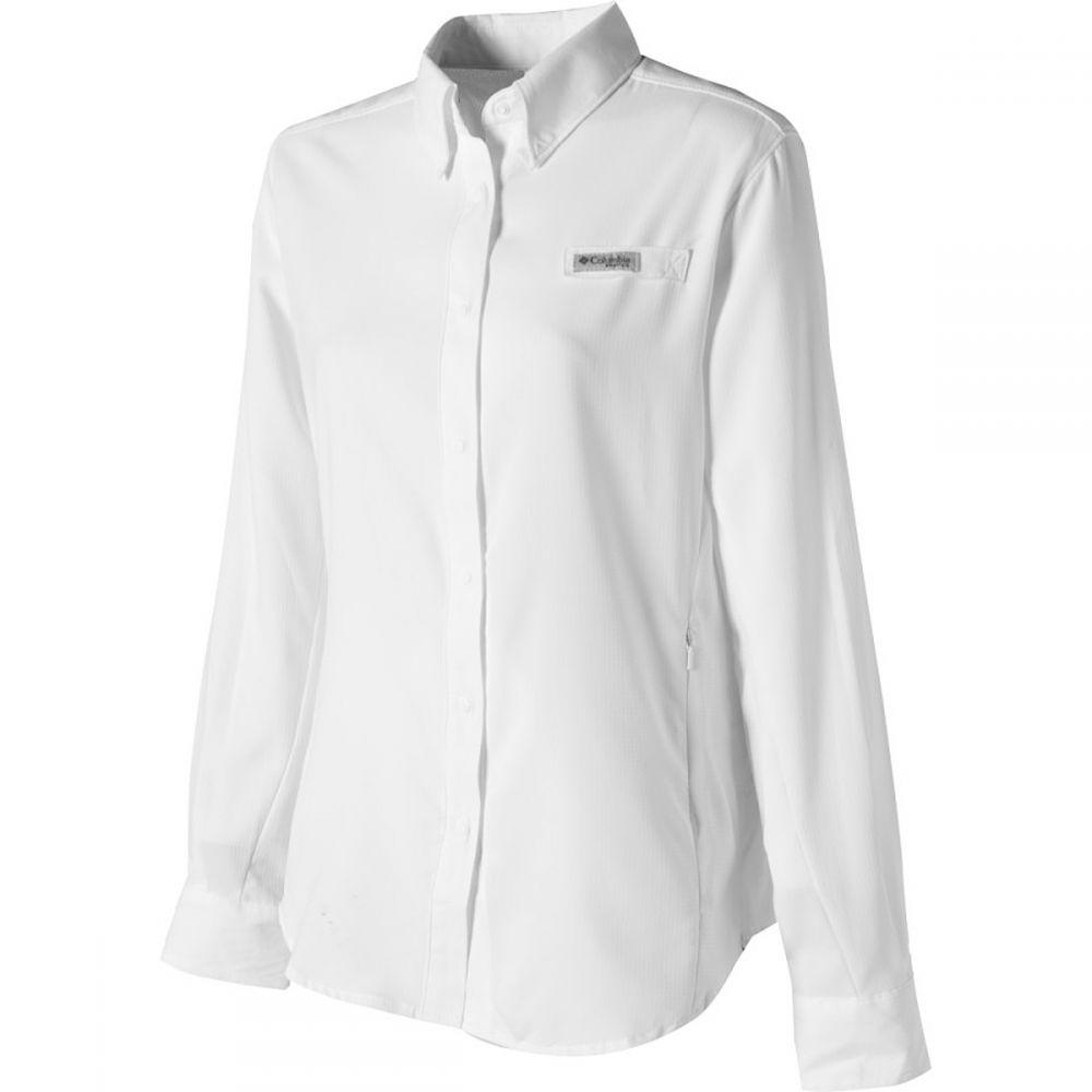 最終決算 コロンビア Columbia - Sleeve レディース ハイキング Shirt】White・登山 トップス【Tamiami II Long - Sleeve Shirt】White, クジグン:65f8a58d --- canoncity.azurewebsites.net