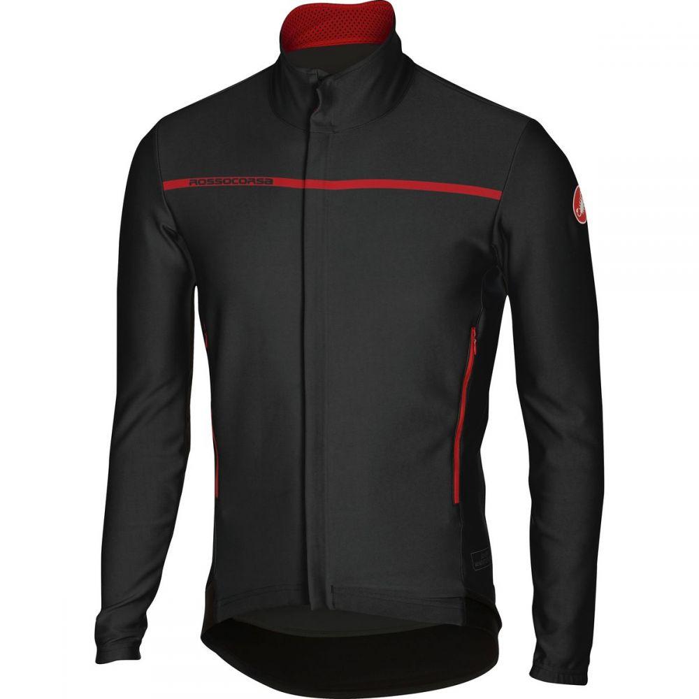 カステリ Castelli メンズ 自転車 トップス【Perfetto Long - Sleeve Jerseys】Black