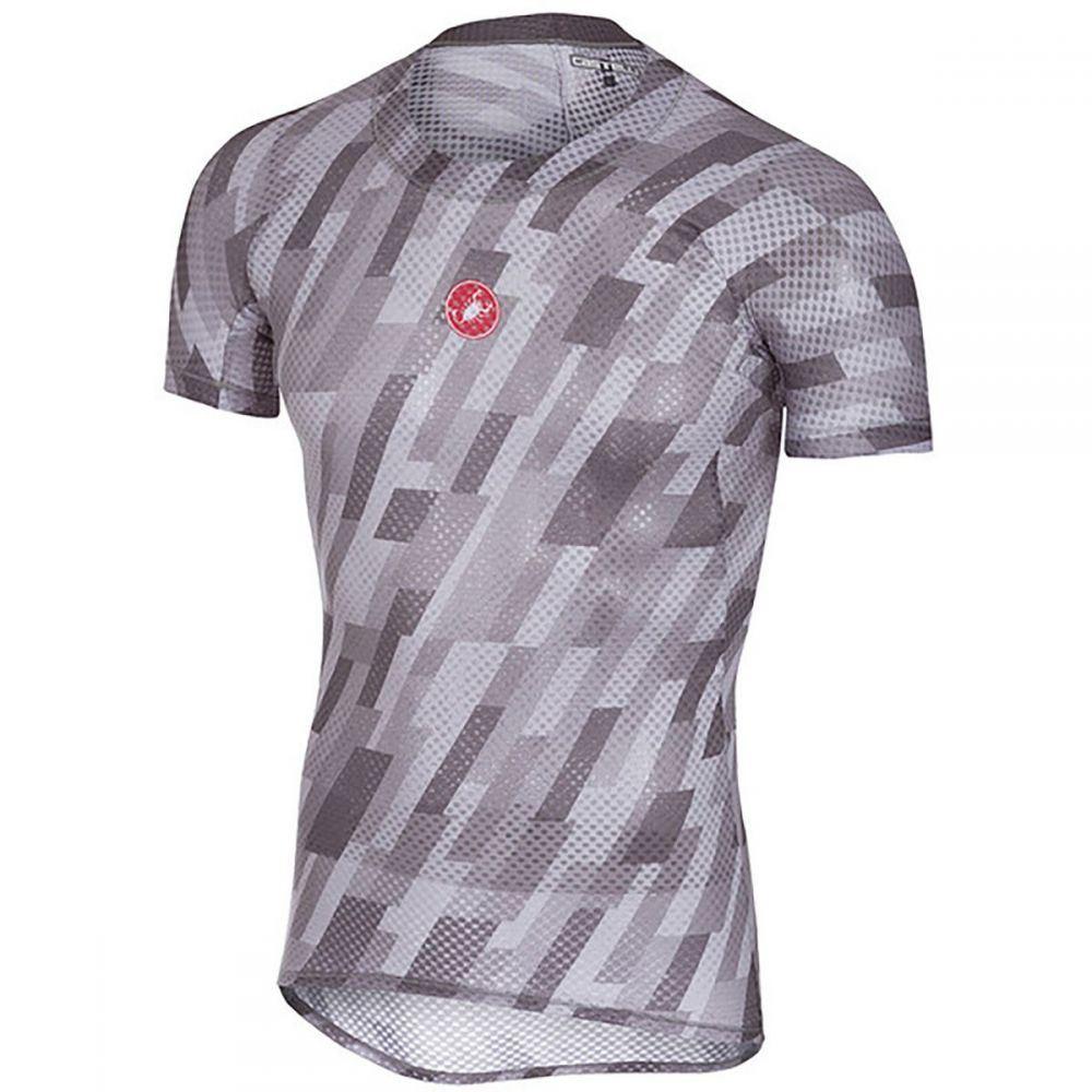 カステリ Castelli メンズ 自転車 トップス【Pro Mesh Short Sleeve Base Layers】Gray
